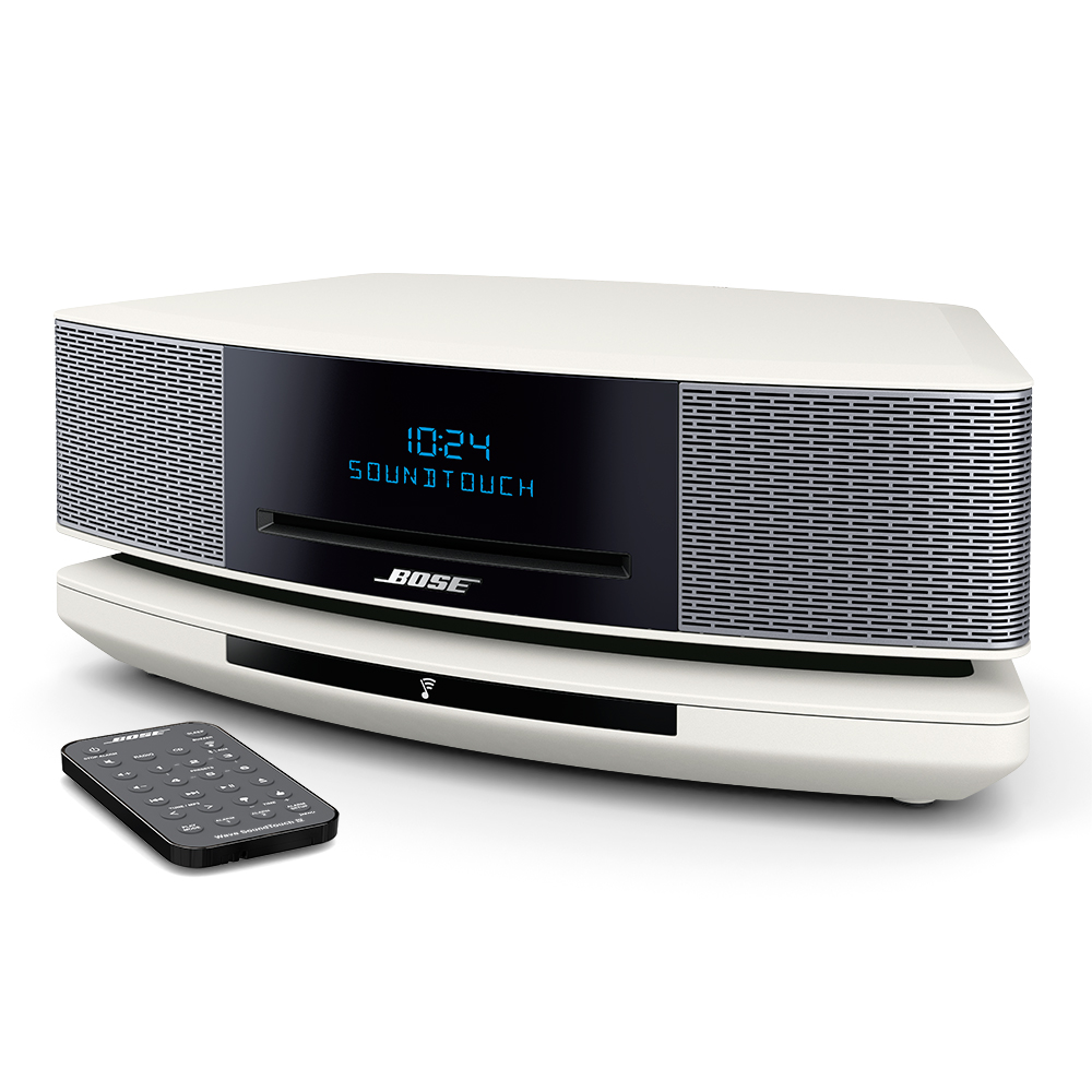 bose wave soundtouch music system iv white. Black Bedroom Furniture Sets. Home Design Ideas